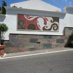 El Ancla Eingang Mosaik